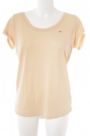 Hilfiger Denim T-Shirt apricot meliert Casual-Look