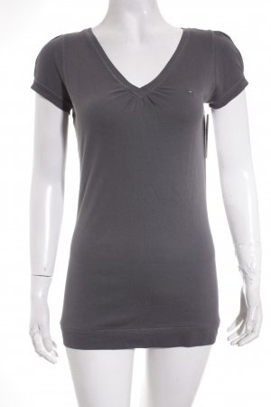 Hilfiger Denim T-Shirt grau Casual-Look