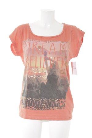 Hilfiger Denim T-Shirt hellorange Casual-Look