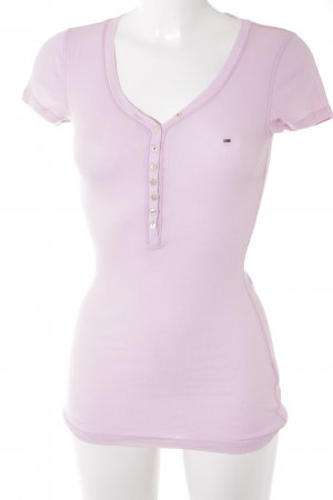 Hilfiger Denim T-Shirt hellrosa Casual-Look