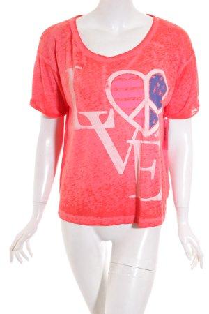 Hilfiger Denim T-Shirt meliert Casual-Look