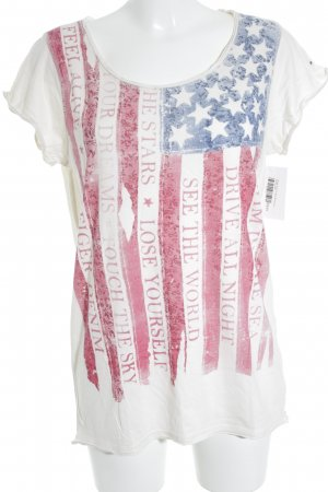 Hilfiger Denim T-Shirt Motivdruck Casual-Look