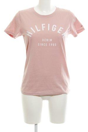 Hilfiger Denim T-Shirt rosé Casual-Look