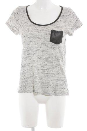 Hilfiger Denim T-Shirt schwarz-hellbeige Farbverlauf Casual-Look