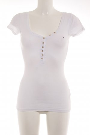 Hilfiger Denim T-Shirt weiß Casual-Look