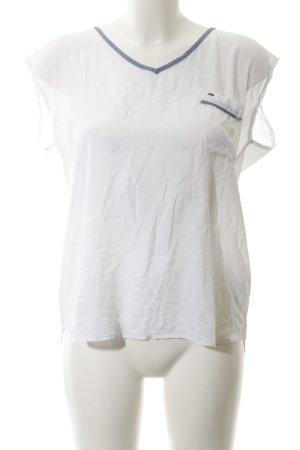 Hilfiger Denim T-Shirt weiß-graublau Casual-Look