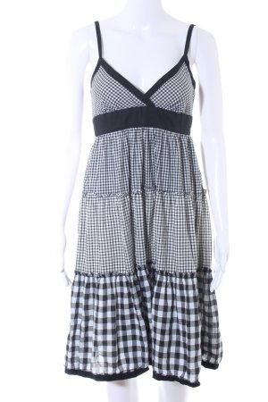 Hilfiger Denim Trägerkleid schwarz-weiß Casual-Look