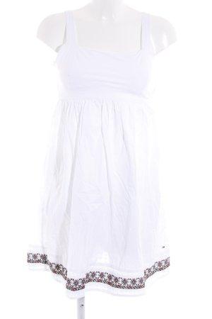 Hilfiger Denim Trägerkleid weiß Romantik-Look
