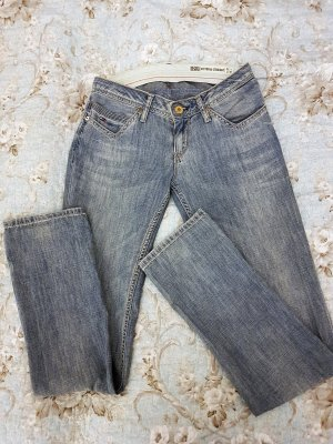 HILFIGER DENIM Victoria Straight Jeans, Größe 27/32, Hellblau