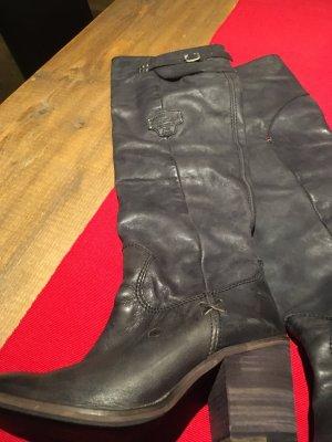 Hilfiger Denim Vintage Overknee Stiefel 38