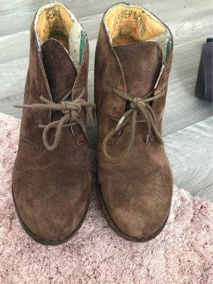 Hilfiger Denim Wildleder Keilabsatz Schuhe