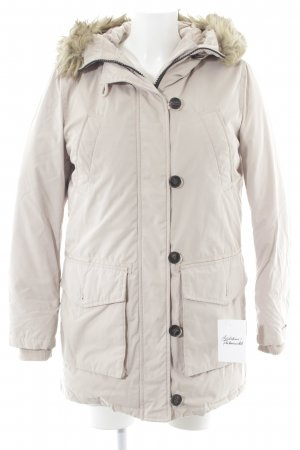 Hilfiger Denim Wintermantel creme Casual-Look