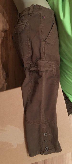 Hilfiger Denim Pantalon cargo ocre coton