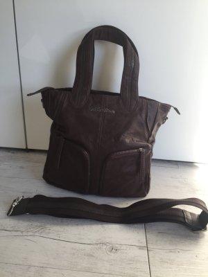 Hilfiger Handtasche braun