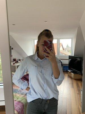 Tommy Hilfiger Denim Flanellen hemd lichtblauw