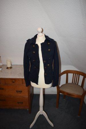 Hilfiger Jacke in dunkelblau im Militärstil