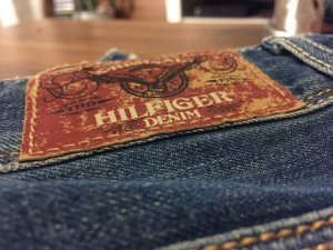 Hilfiger Denim Boot Cut Jeans azure