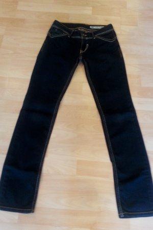 Hilfiger Jeans in schwarz Gr. 26/32