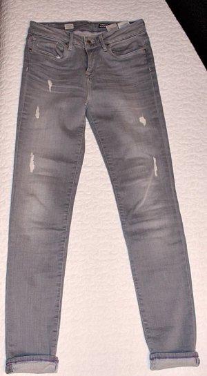 Hilfiger Denim Stretch Jeans silver-colored-mauve cotton