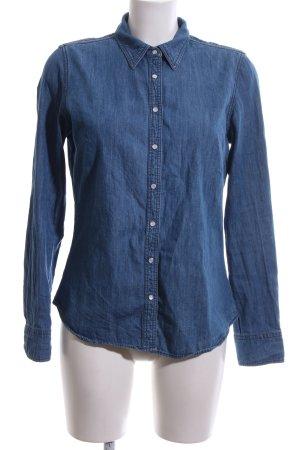 Hilfiger Camisa vaquera azul look casual