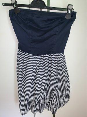 Hilfiger Denim Vestido bandeau blanco-azul oscuro