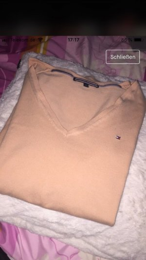 Tommy Hilfiger V-Neck Sweater nude