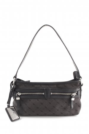 Hilfiger Mini Bag black-dark green embellished pattern casual look