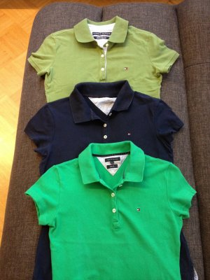 Hilfiger polo Shirt in 3er pack