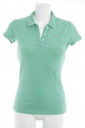 Hilfiger Polo Top mint-rosa Casual-Look