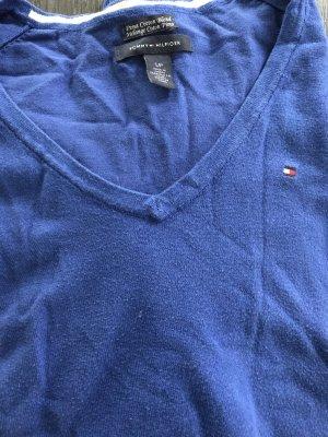 Hilfiger Pulli Gr. S in strahlendem blau