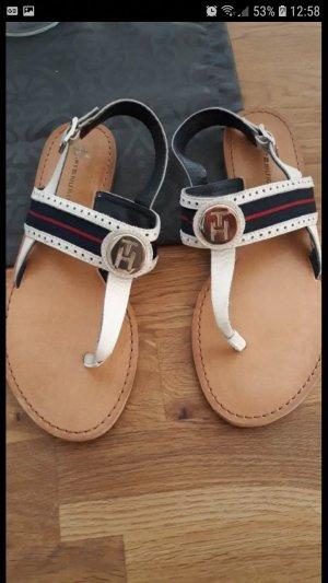 hilfiger sandalen weiss gr. 37