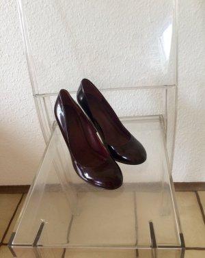 Hilfiger - Schuhe - weinrote Lackpumps Größe 38