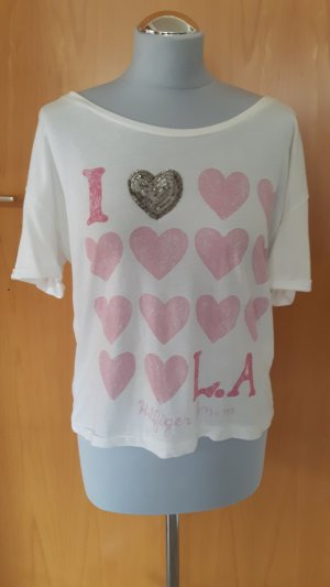 Hilfiger Shirt weiß/ rosa