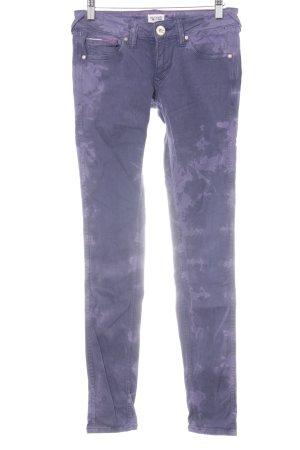 Hilfiger Skinny Jeans dunkelviolett-helllila Casual-Look