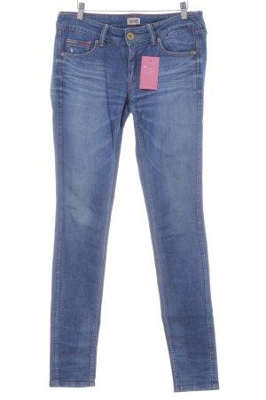 Hilfiger Skinny Jeans stahlblau Casual-Look