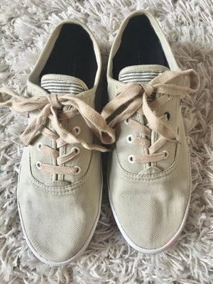 Tommy Hilfiger Lace-Up Sneaker oatmeal-white