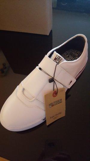 Tommy Hilfiger Sneaker slip-on bianco