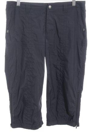 Hilfiger Sport Pantalón capri azul oscuro estilo deportivo