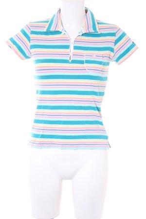 Hilfiger Sport Polo-Shirt Streifenmuster sportlicher Stil