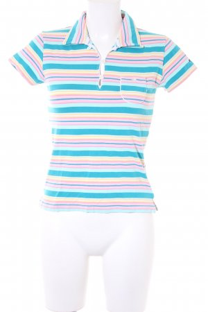 Hilfiger Sport Polo Shirt striped pattern athletic style