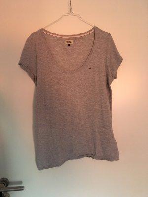 Hilfiger T-Shirt grau meliert
