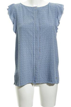 Hilfiger T-Shirt kornblumenblau-weiß Casual-Look