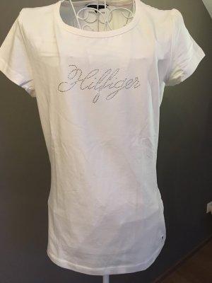 Hilfiger T-Shirt mit Strasssteinen