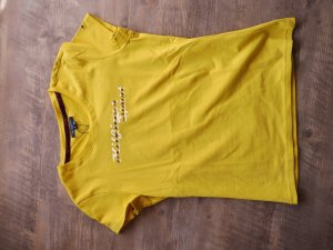 Hilfiger T-Shirt gold orange cotton