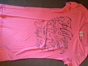 Hilfiger T-Shirt/ Pink, Größe 34