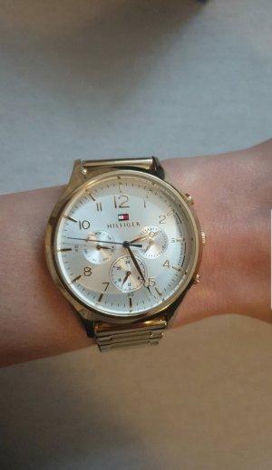 Tommy Hilfiger Reloj con pulsera metálica color oro