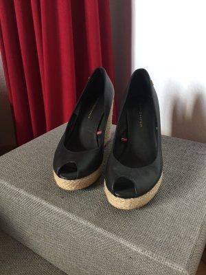Tommy Hilfiger Wedge Sandals black