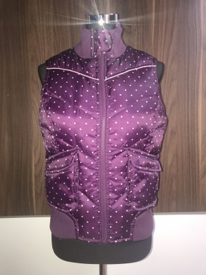 Hilfiger Denim Quilted Gilet brown violet-mauve
