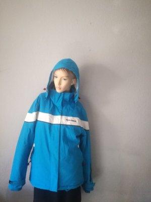 Hilfiger Collection Chaqueta para exteriores azul neón-turquesa Nailon