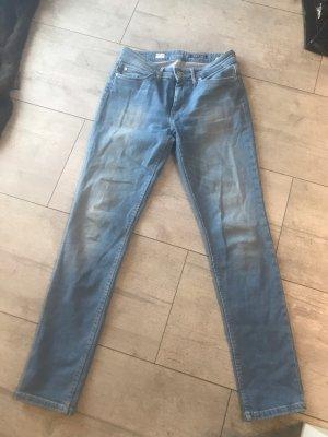 Hilfiger Jeans taille basse bleu azur